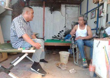 Eka  Surya, Dari Bangka Belitung Demi Ilmu Kaki Palsu