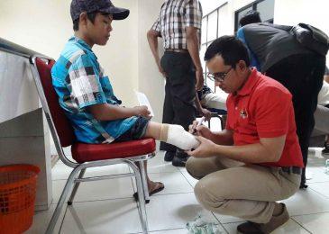M. Fadhly S, Relawan Kick Andy Foundation Cekatan asal Padang Pariaman