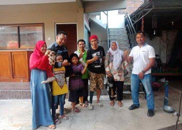 Purnomo, Anggota Polisi Yang Aktif Membantu Mereka Yang Butuh Kaki Palsu