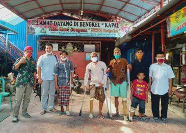 Baznas Probolinggo Donasikan 4 Kaki Palsu Buatan Komendan Sugeng